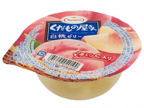 Желе фруктовое Tarami с кусочками фруктов Персик 160 гр.