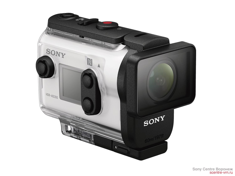 Экшн камера Sony HDRAS300 в Sony Centre Воронеж