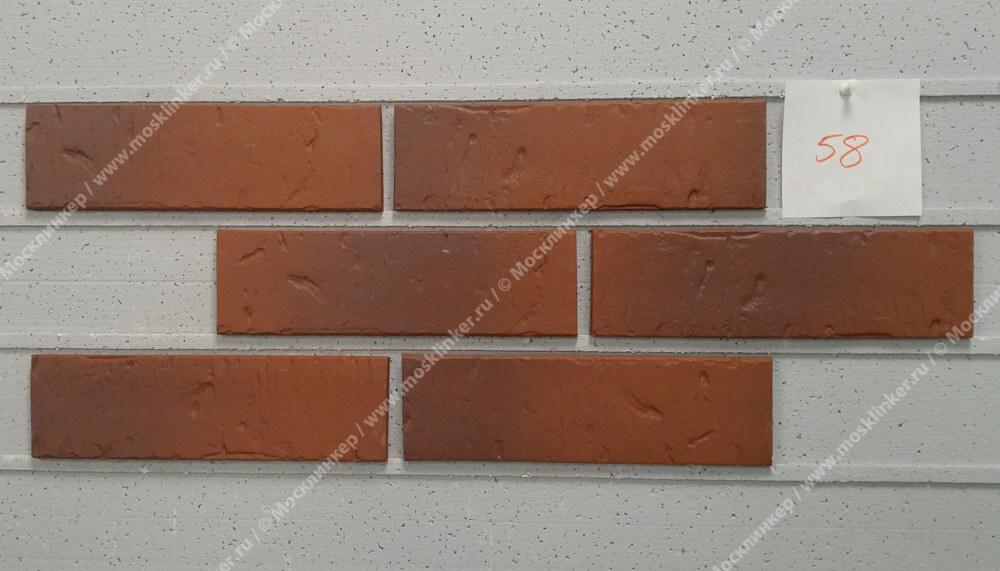ABC - Rustik, Naturbrand, 240х71х10, NF - Клинкерная плитка для фасада и внутренней отделки