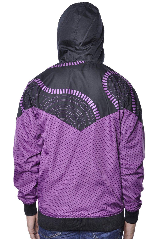 Ветровка фиолетовая фото 3