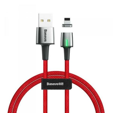 Магнитный кабель Baseus Zinc Magnetic Cable USB For Micro 2.4A 1m Red