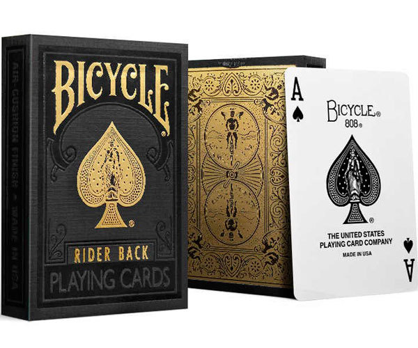 Black & Gold Rider Back