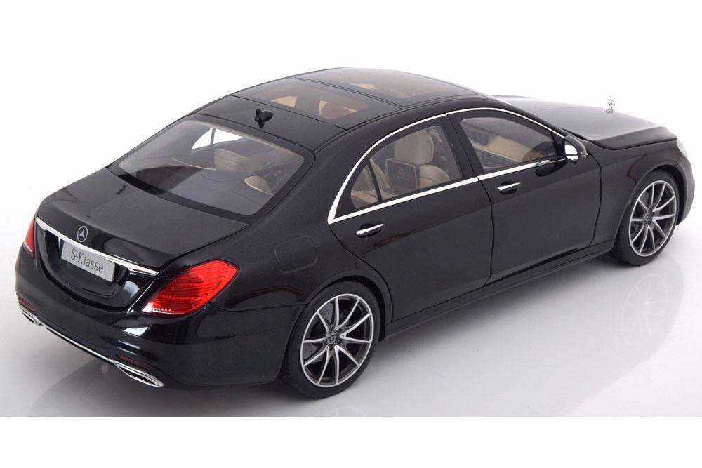 Коллекционная модель Mercedes-Benz W222 S-Class Uplifting 2017 Obsidian Black Metallic