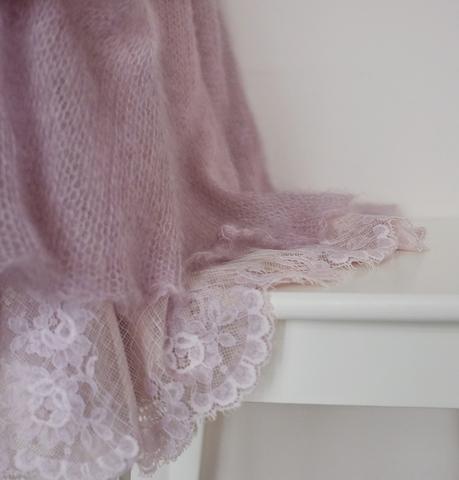 Описание модели Розовая дымка (автор Лена Родина)