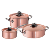 Набор посуды Opus Cupra 3 предмета, артикул CZ06 Ruffoni, производитель - Ruffoni