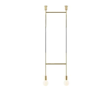 Потолочный светильник копия Side Step by Volker Haug (золотой)