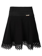 6612 юбка женская, черная