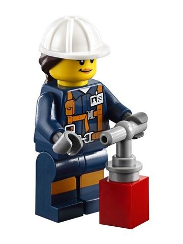LEGO City: Бригада шахтеров 60184 — Mining Team — Лего Сити Город