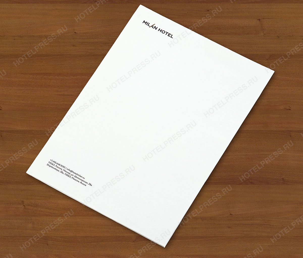 Блокнот A5 (148 х 210 мм) 50 листов с логотипом