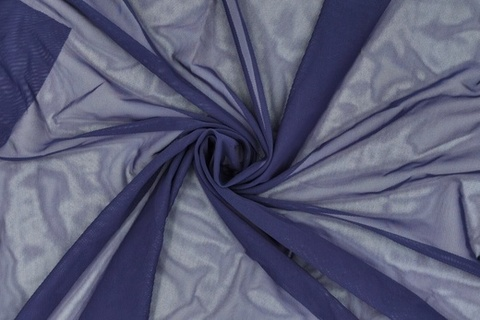 Эластичная сетка, темно-синий, (Арт: ES-061)