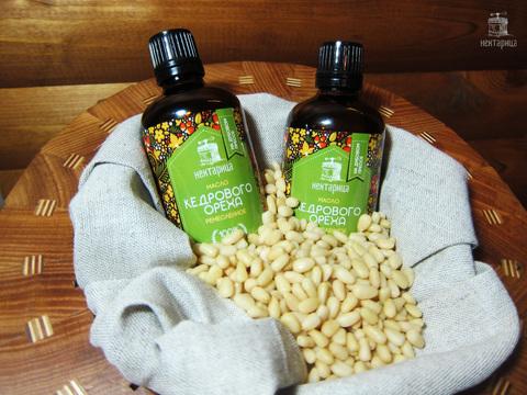 Сыродавленное масло кедрового ореха