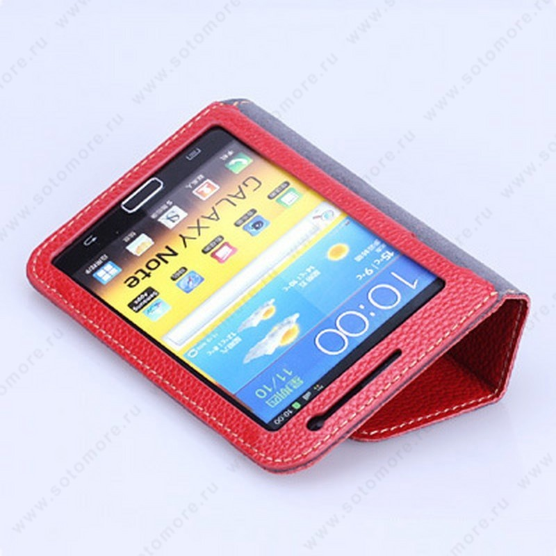 Чехол-книжка Yoobao для Samsung Galaxy Note N7000 - Yoobao Executive Leather Case Red