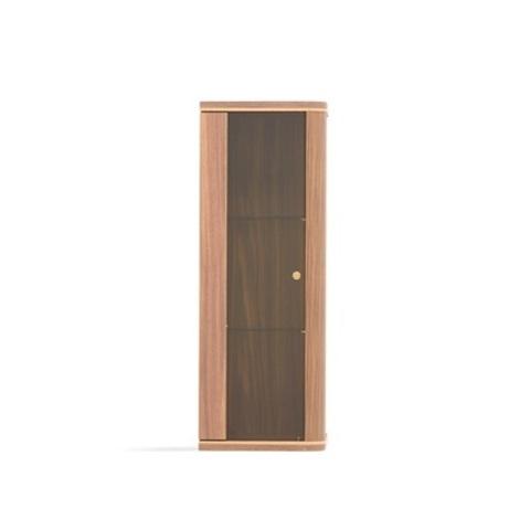 Верхний шкаф RAUM со стеклянной дверцей орех