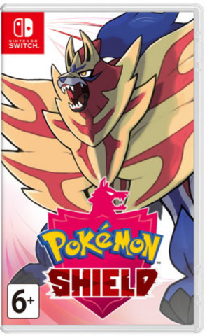 NS: Pokémon Shield (английская версия)