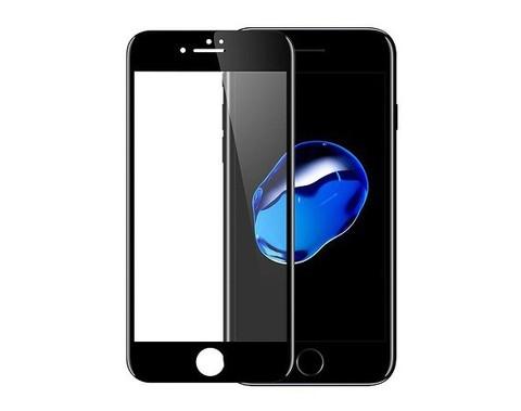 Стекло защитное для IPhone 7/8 (Черное)
