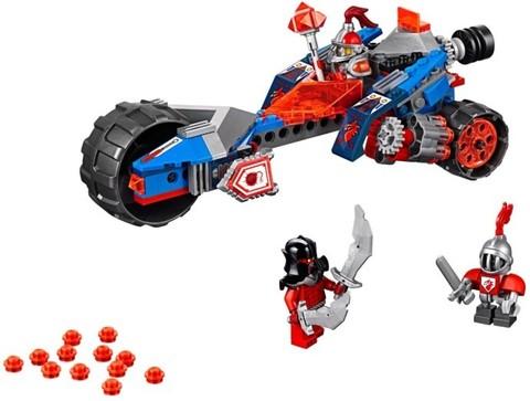 LEGO Nexo Knights: Ударная машина Мейси 70319 — Macys Thunder Mace — Лего Нексо Найт Рыцари