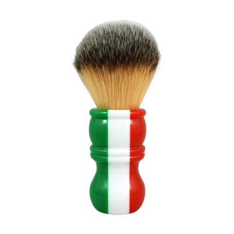 Помазок RazoRock Italian Barber Three Color Plissoft синтетика