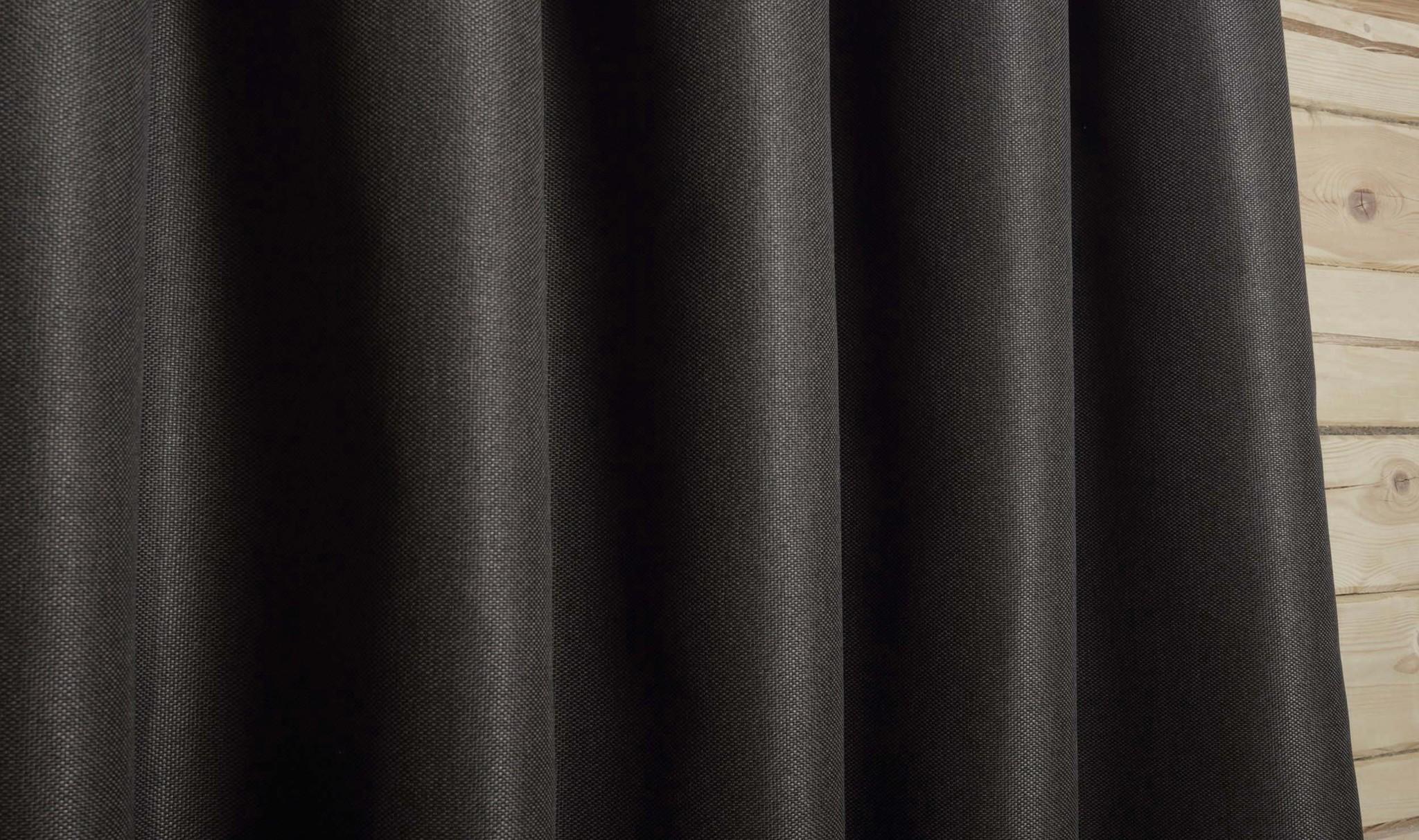 Длинные шторы под  лён Oxford (венге)