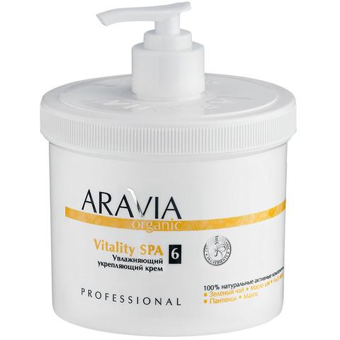 Увлажняющий укрепляющий крем Vitality SPA ,ARAVIA Organic,550 мл.