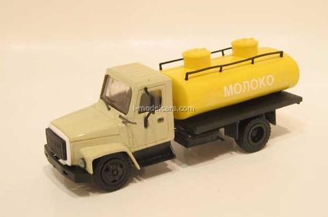 GAZ-3307 tank Milk Kompanion 1:43