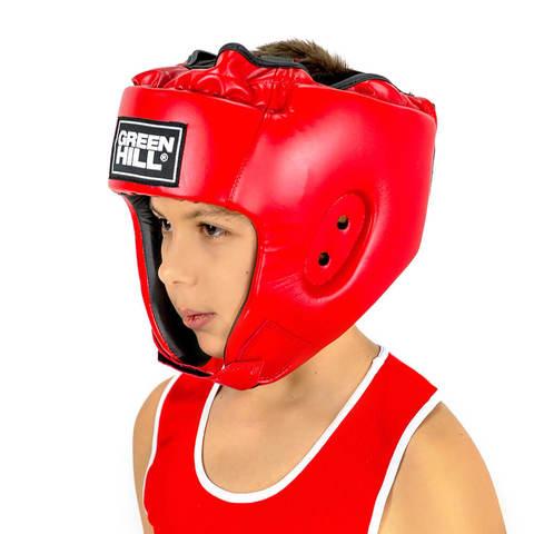 Шлем для кикбоксинга Alfa HGA-4014 Green Hill