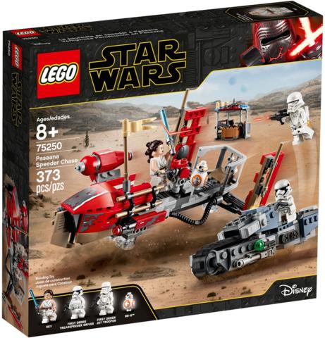 LEGO Star Wars: Погоня на спидерах 75250 — Pasaana Speeder Chase — Лего Звездные войны Стар Ворз