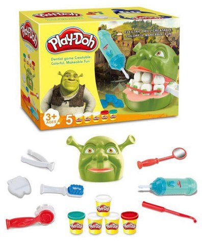 Набор Мистер Зубастик Shrek Play-Doh
