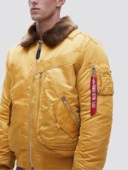 Куртка Alpha Industries Injector MOD Flight Jacket желтая