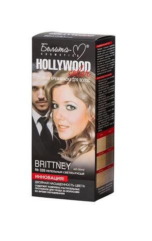 Белита-М Hollywood Color Крем краска 326 Бриттни (пепел.светло русый)