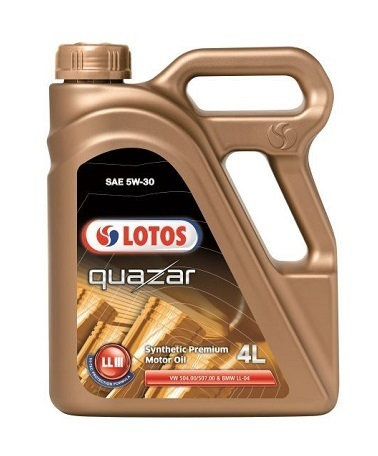 LOTOS QUAZAR LLIII SAE 5W-30 масло моторное синтетическое (4 Литра)
