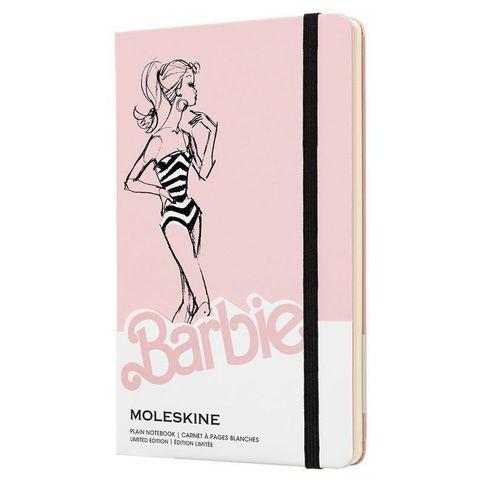 Блокнот Moleskine Limited Edition BARBIE LEBRQP062 Large 130х210мм 240стр. нелинованный Swimsuit