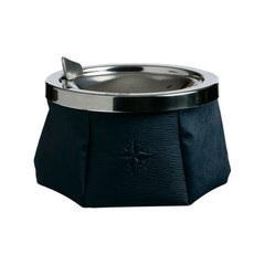 ASHTRAY WITH LID – NAVY BLUE, WINDPROOF