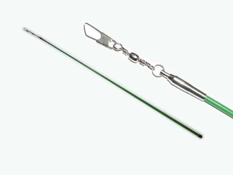 Палочка для гимнастической ленты 56 см. Цвет зелёный. :(АВ215):