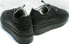Теплые женские кроссовки на осень Rozen M-520 All Black.