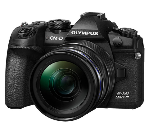 Olympus OM-D E-M1 Mark III Kit 12-40 mm f 2.8 PRO  Black