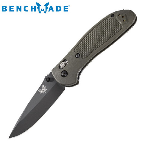 Нож Benchmade модель 551BKOD Pardue Drop PT Grip