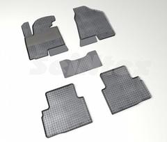 """Резиновые коврики """"Сетка"""" для Hyundai ix35 (2010-н.в.)"""