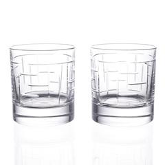 Набор стаканов для виски RCR Labirinth Style Prestige 290мл (2 шт), фото 2