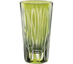 SIXTIES Lines Kiwi - Набор стопок для водки из хрусталя, 2 шт, 60 мл