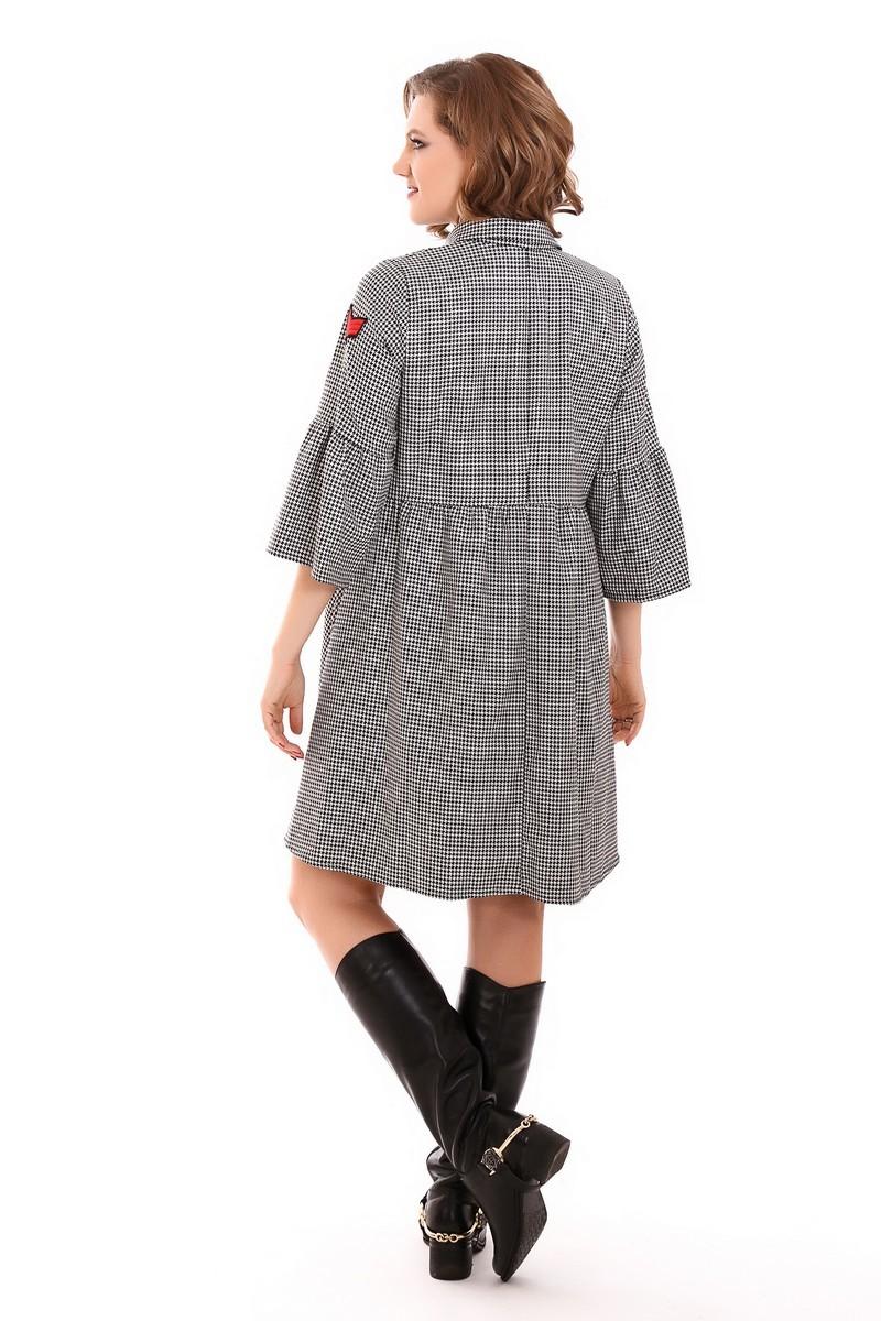 Фото платье для беременных GEMKO, трапеция от магазина СкороМама, черный, размеры.