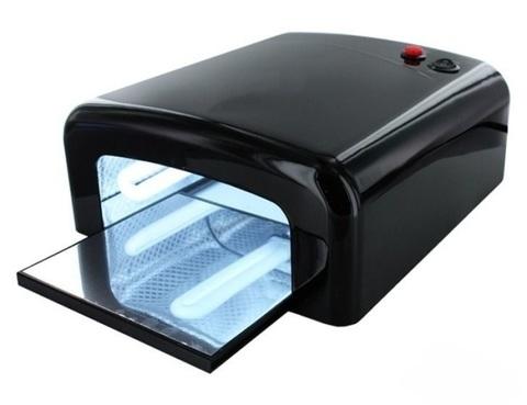 УФ лампа 36 вт. Цвет черный