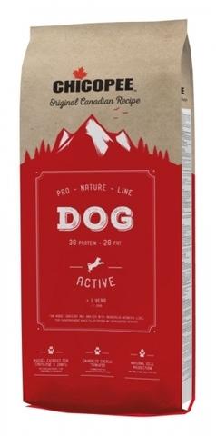 Chicopee Pro Nature Line Active сухой корм для взрослых повышенно активных собак всех пород - 20 кг 20 кг