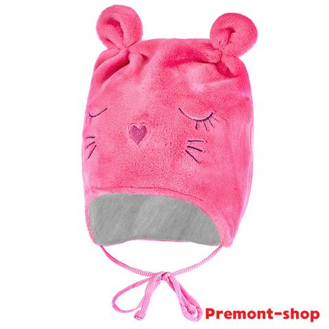 Шапка для новорожденных Premont WP91865 PINK
