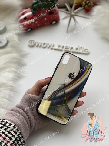 Чехол iPhone  XS Max Polaris smoke Case Logo /black/