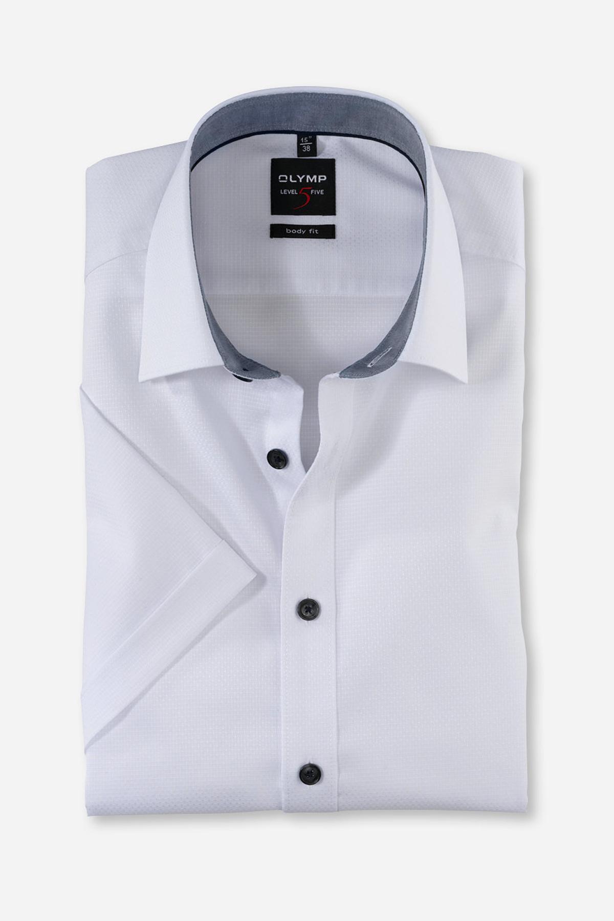 OLYMP LEVEL FIVE BODY FIT сорочка с коротким рукавом