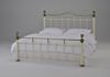 Кровать двуспальная белая Диана (Diana)
