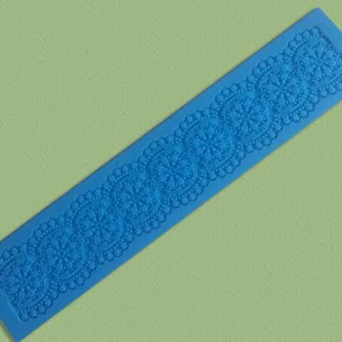 Коврик для айсинга, 39х8см,, силикон Арт.120