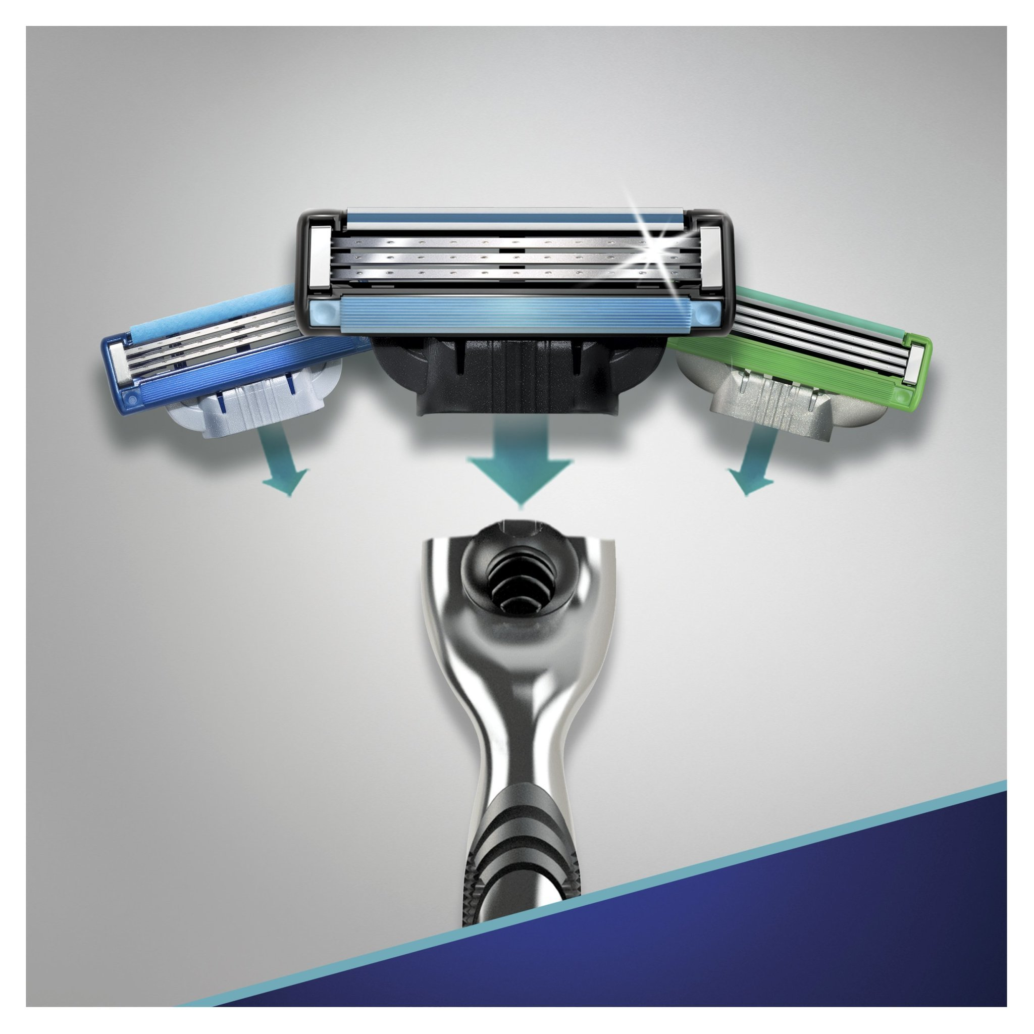 Gillette mach3 комплект (3х8) 24 шт. (Цена за 1 пачку 837р.)