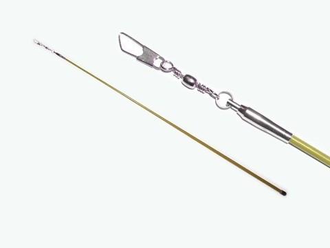 Палочка для гимнастической ленты 56 см. Цвет жёлтый. :(АВ215):