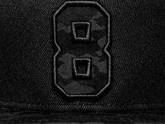 Бейсболка № 8 Snapback